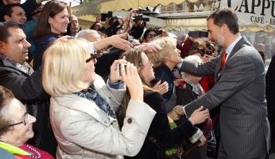 Su Majestad Felipe VI pide unidad y el sentido de la responsabilidad en Tarragona, Juegos del Mediterráneo 2017..