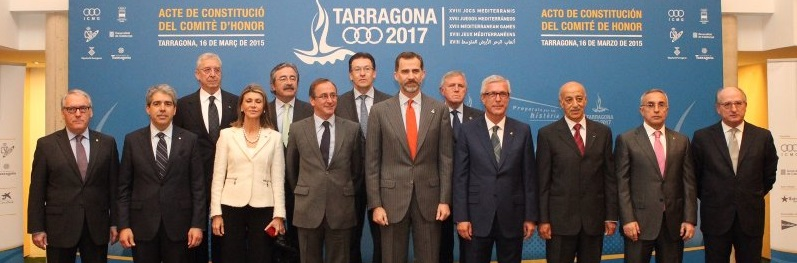 Su Majestad Felipe VI pide unidad y el sentido de la responsabilidad en Tarragona, Juegos del Mediterráneo 2017.
