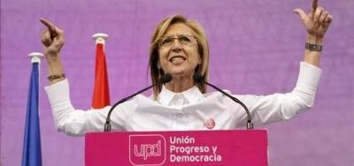 UPyD en llamas, 4 altos cargos dejan la dirección de UPyD por discrepancia con Rosa Díez - copia
