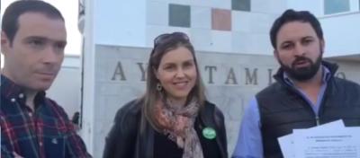 VOX exige la colocación de la bandera de España en Marinaleda y denunciará a su alcalde Si no hay respuesta - copia