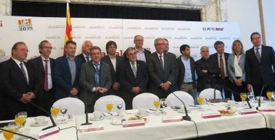 Ángel Ros defiende a ANC y pide cordura para evitar la radicalización de la vida política en Cataluña,
