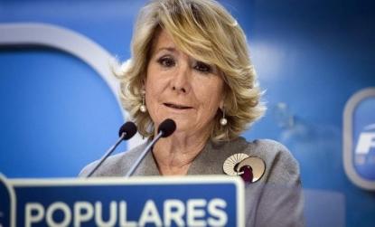 Admitida a trámite la querella de Podemos contra Esperanza Aguirre por delitos de injurias y calumnias.. - copia