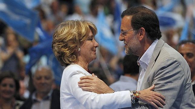Aguirre el PP debería aceptar que Cataluña es una Nación con Pleno Derecho, votar contra el estatuto, era un error..