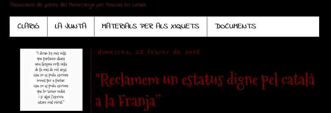 Aragón se vacuna contra el catalanismo, ya no se estudiará el catalán en segundaria y bachillerato.