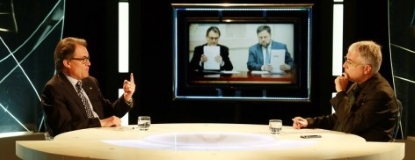 Artur Mas amenaza con anular la convocatoria del 27-S si ERC no cumple a 100-100 su parte del pacto..