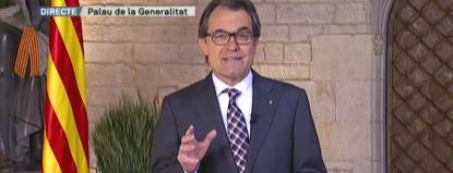 Artur Mas aprovecha de la San Jorge reivindicar el derecho a la autodeterminación de Cataluña - copia
