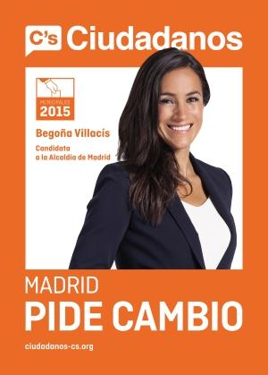 Begoña Villacís arranca en Moncloa la campaña de Ciudadanos (C's) con el lema Madrid pide cambio...