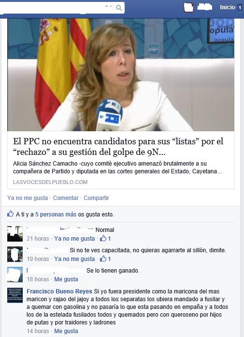 Bueno Reyes Yo ya tengo la ametralladora cargada y lista para matar a Susana Díaz y asquerosos separatist - copia