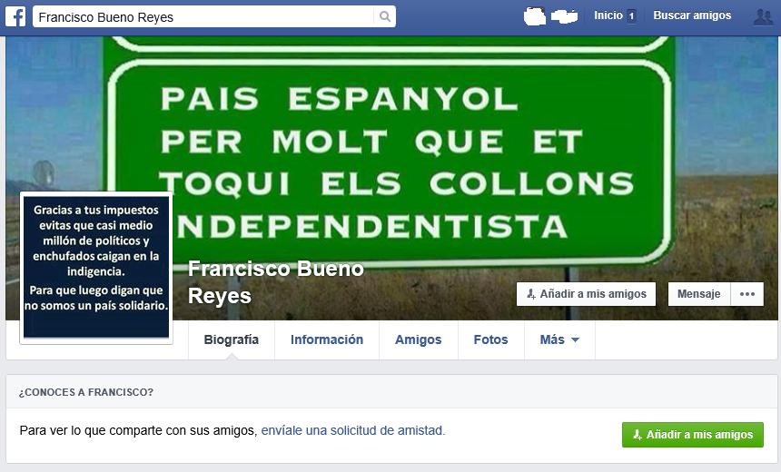 Bueno Reyes Yo ya tengo la ametralladora cargada y lista para matar a Susana Díaz y asquerosos separatistas...