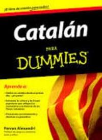 CCV pide por carta a la Editorial Planeta que retiren un libro que aboga por la destrucción de España 'Dummies Aprenda Catalán'