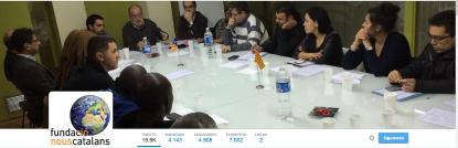 CIU junto a Fundación Nuevos Catalanes separatistas adoctrinados, vinculada al yihadismo, reivindica el catalanismo antiespañol..