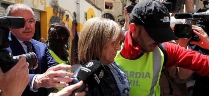 Detenida, Teresa Gomis, teniente de alcalde separatista de Artur Mas en Reus (Tarragona) y 6 personas, Caso de corrupción Innova - copia