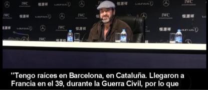 El antiespañol francés de origen Martorell (Cataluña), Eric Cantona, dice que Cataluña ganó el mundial 2010.. - copia