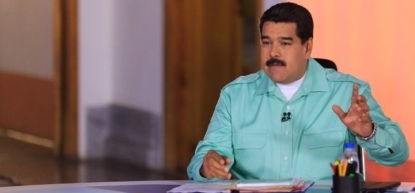 El dictador venezolano que encarcela a opositores, Maduro, amenaza a las Cortes Generales de España con conjuntos respuestas.. - copia