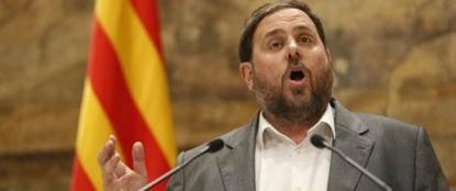 El ultra separatista antiespañol, Oriol Junqueras Vies, anuncia que es padre de una niña, un día de alegría - copia