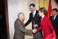 Entrega del Premio de Literatura en Lengua Castellana Miguel de Cervantes 2014 a Goytisolo Gay