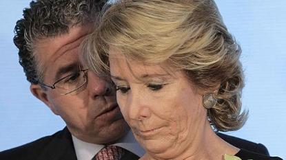 Esperanza Aguirre se compromete vivir a 100-100 al coste de los ciudadanos hasta los cafés si es elegida alcaldesa de Madrid.