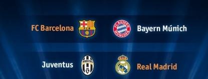 FC Barcelona-Bayern y Real Madrid-Juventus, semifinales de infarto de la Champions League 2015 - copia