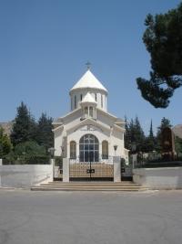 Aanjar (Líbano). Iglesia armenia ortodoxa y memorial del genocidio. Junio 2012. Fotografía del autor