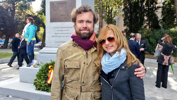 Inma Sequí Serrano y el secretario general de VOX,Iván Espinosa / foto Inma Serrano