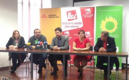 Izquierda Unida traiciona a España en Valencia, IU pacta con los antiespañoles de ERC para las autonómicas