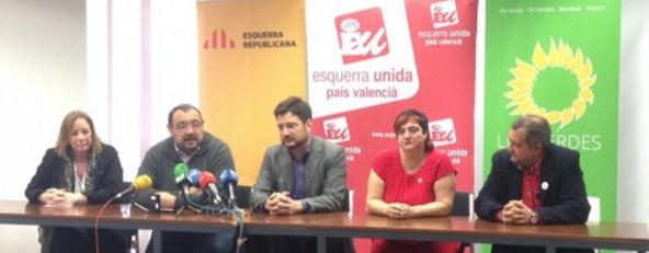 Izquierda Unida traiciona España en Valencia, IU pacta con los antiespañol de ERC para las autonómicas . - copia