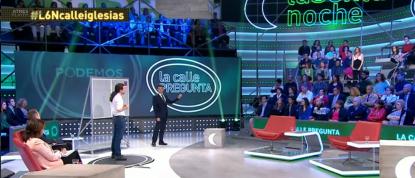 'La calle pregunta' a Pablo Iglesias sobre el paro, economía, ETA,  corrupción y propuestas de Podemos,