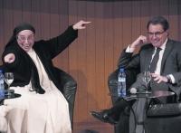 La monja que dio el abrazo de Judas a Cataluña contra España critica a su cómplice Esperanza Aguirre,
