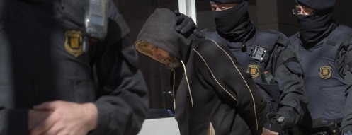 Los 5 yihadistas catalanes conversos al islam y sus compañeros marroquíes querían secuestrar  y degollar a una persona