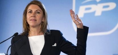 María Dolores de Cospedal del PP Hemos trabajado mucho para saquear a España - copia