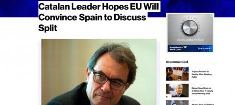 Mas no descarta la declaración unilateral de independencia de Cataluña si fracasa la negociación UE, España y Cataluña.