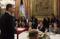Palabras de Su Majestad el Rey en el almuerzo ofrecido en honor del presidente de Egipto, Abdel Fattah Al-Sisi - copia