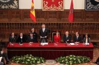 Palabras de Su Majestad el Rey en la entrega del Premio de Literatura en Lengua Castellana 'Miguel de Cervantes' 2014 .