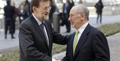 Rajoy admite que el caso del corrupto Rato y las cuentas B del dinero negro de las mafias del PP les afecta mucho - copia