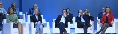 Rajoy pide a la gente normal votar al partido que tiene una caja B y no lo sabe y avisa del riesgo de partidos emergentes.