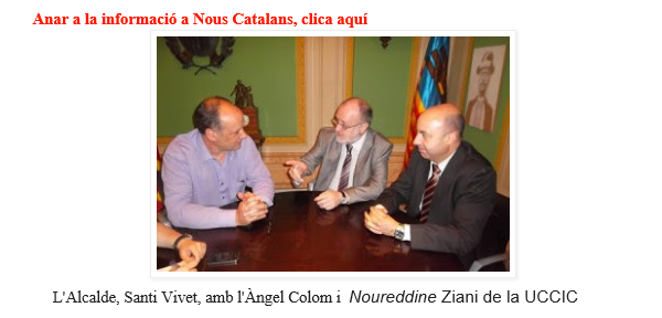 Un Alto Cargo de Artur Mas se reunió en un hotel marroquí con el yihadista catalanista de Fundació Nous Catalans