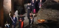 Vídeo completo del 'Camino de Cruz' 2015 del 'Viernes Santo' presidido por el Papa Francisco anoche  .-