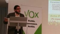 Juan Carlos Barbé, el candidato de Vox a la alcaldía de Gerona