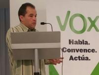 Candidato a la alcaldía de Vidreras para VOX,  Ernesto Torres