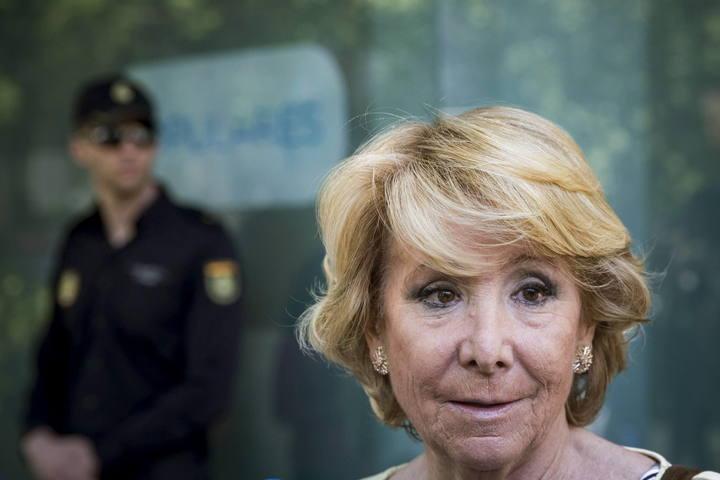 Esperanza Aguirre no se presentará al congreso extraordinario del PP de Madrid