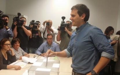 """Albert Rivera: """" hoy tenemos la oportunidad de cambiar la política y abrir una nueva etapa"""", 2M"""