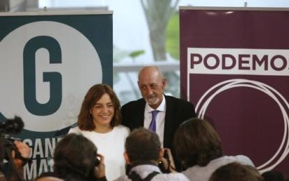 'Ahora Madrid' (Podemos) triunfa como segunda fuerza y suma 20 Consejales y podrá gobernar con el PSOE