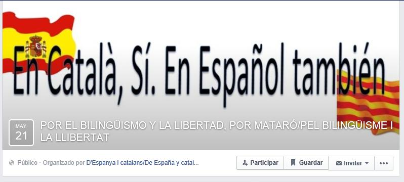 Convocada una concentración en rechazo al modelo monolingüístico excluyente catalán, en apoyo a Agustín