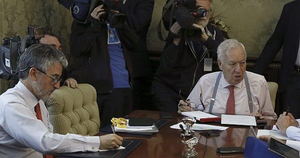 El Ministro de Exteriores, Margallo, confirma la muerte de una española en el terremoto en Nepal