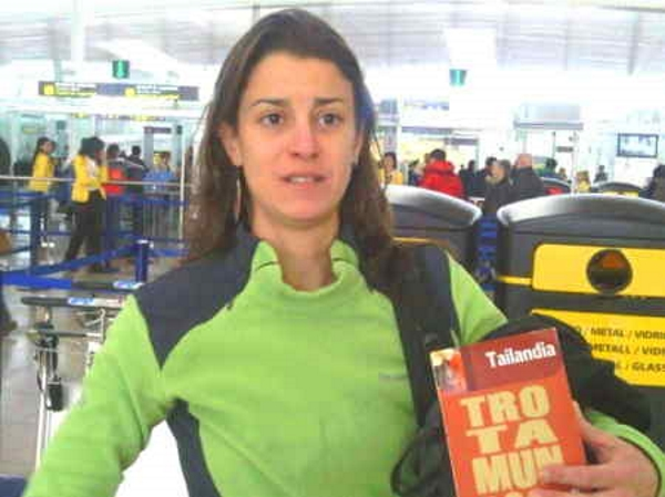 La desaparecida española en Nepal, Roser Palau, en una foto reciente cedida por su madre a acn