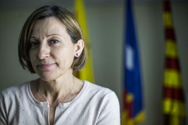 Forcadell rechaza el titular de su entrevista al diario 'El País' sobre la posible victoria Podemos