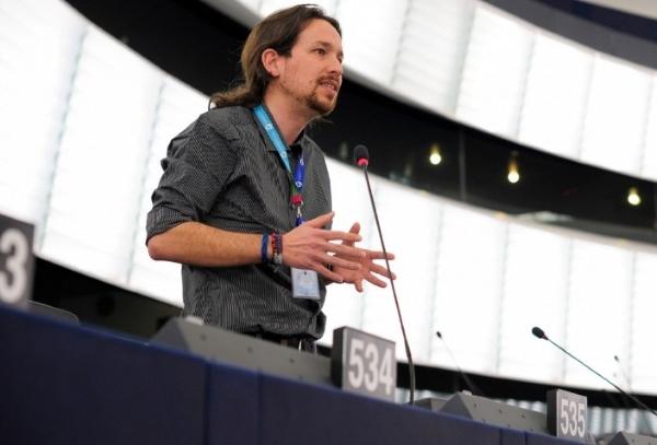 Iglesias defiende a trabajadores de Correos a la comisión Europea, 14.000 desempleados últimos 5 años