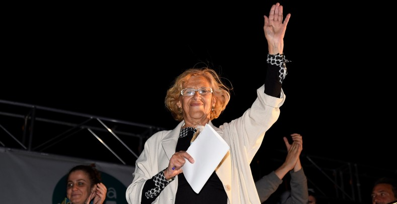 La suma hipotética de (Podemos) 'Ahora Madrid' de Manuela Carmona
