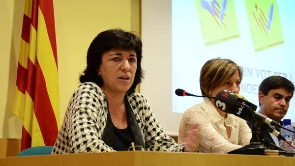 La ultra de la campaña 'Firma un voto' para la fractura de España lidera la votación al nuevo secretariado de ANC