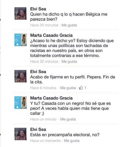 Marta Casado Gracia es la racista candidata del Partido Popular de Camacho en Arbós, Cataluña.
